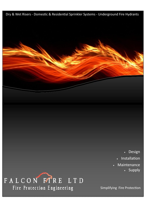 Falcon Fire Brochure