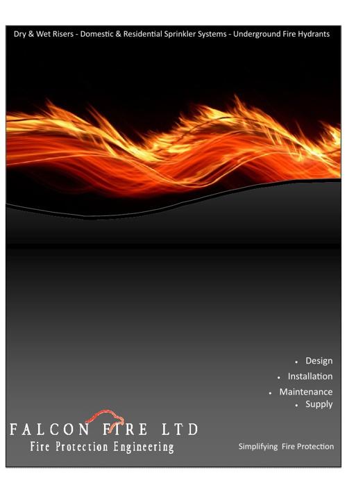 Falcon Fire Brochure