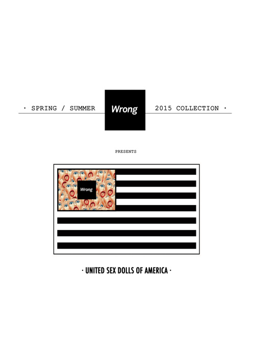 Wrong SS15 Collection