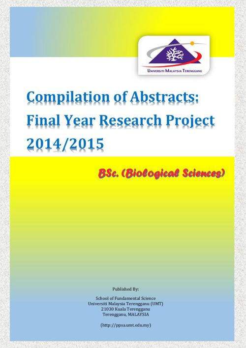 Compilation of FYP Research Abstracts