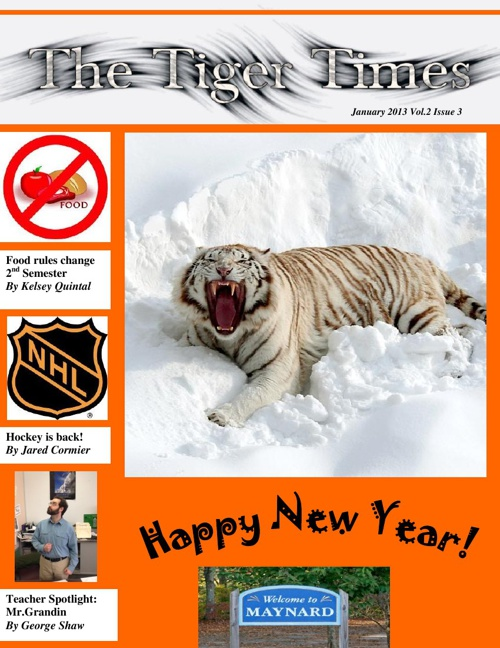The Tiger Times - December/January Edition