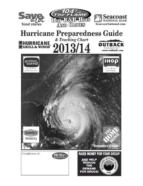 Hurricane Prepredness Guide Sample and Info for Advertisers