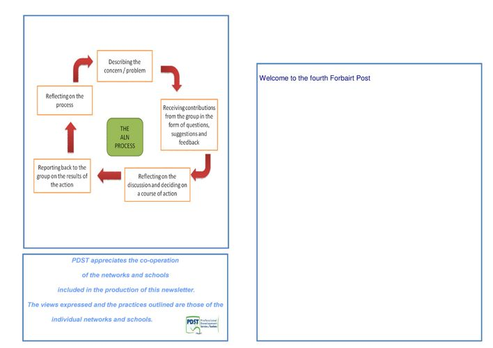 ALN PDST newsletter sept 2011