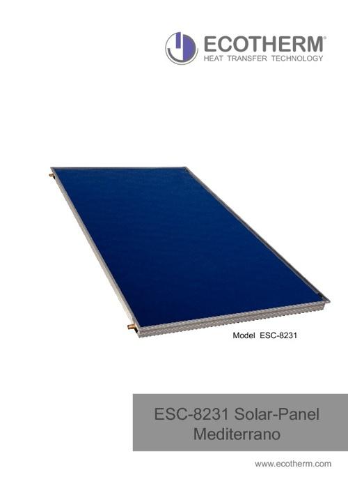 ESC 8231 Solar Panel