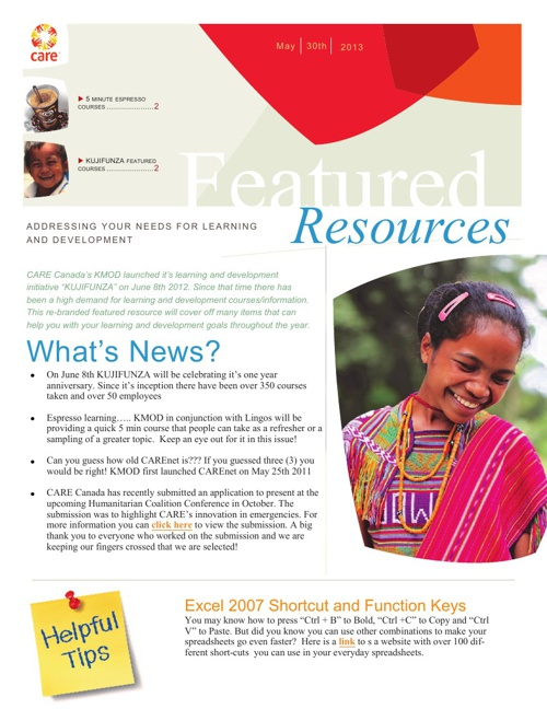 Featured Resource - 2013-05-29