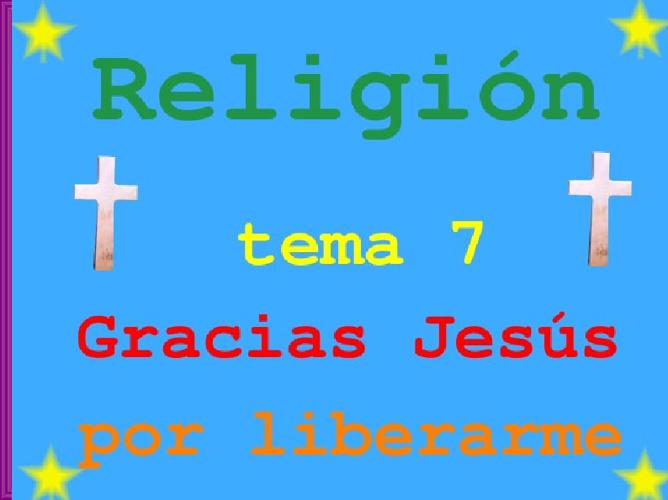 religión tema 6 2ª parte