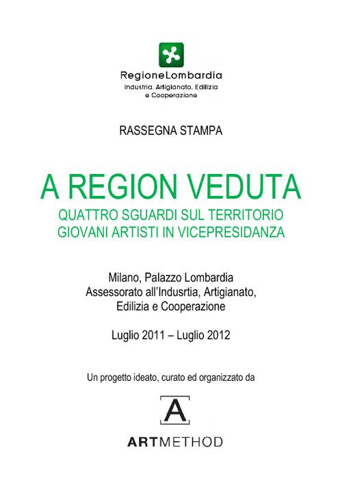 A Region Veduta - Rassegna Stampa