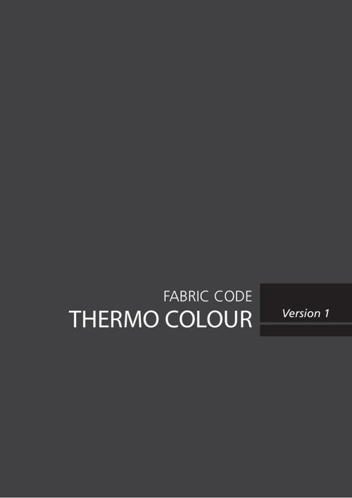 Thermo Colour - Fabric Code