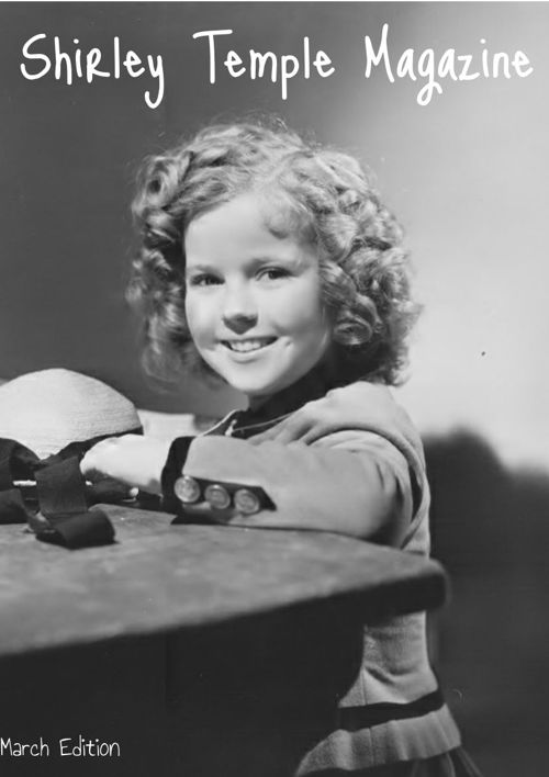 Shirley Temple Magazine March Edition