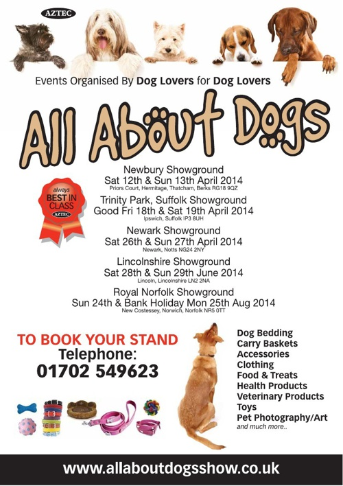 All About Dogs Exhibitor Brochure