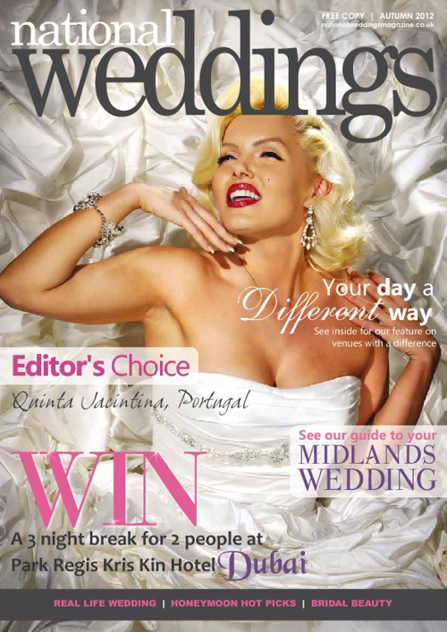 National Weddings Magazine Autumn issue