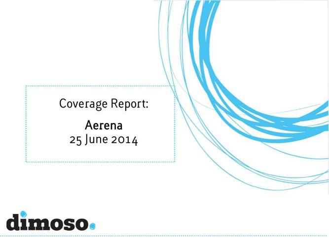 Coverage Report Aerena