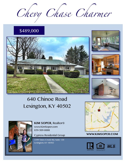 640 Chinoe Road