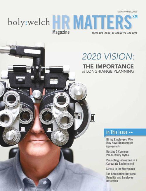 HR Matters - March/April 2016