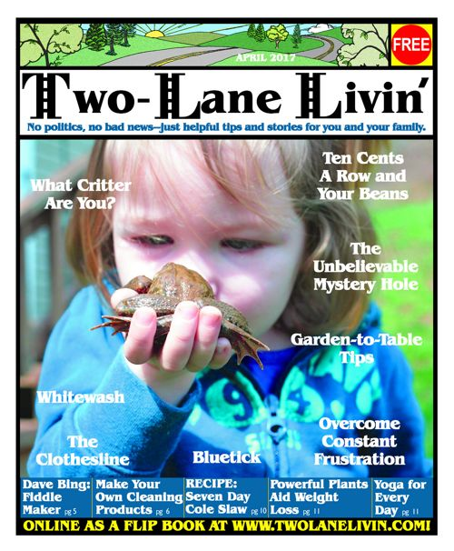 Two-Lane Livin Magazine - April 2017