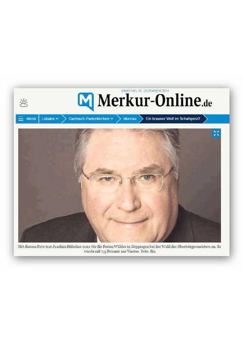 Hülscher - Ex-Politiker aus Göppingen