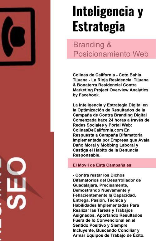 La Rioja Tijuana Coto Bahia - Facebook Proyecto Web Branding