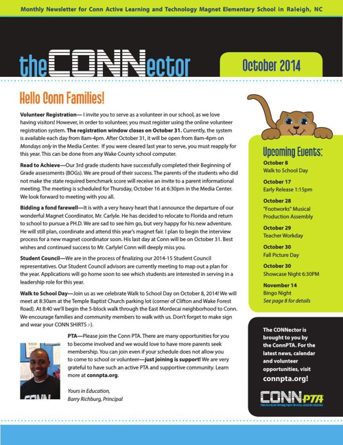 CONNector October 2014 - Monthly newsletter