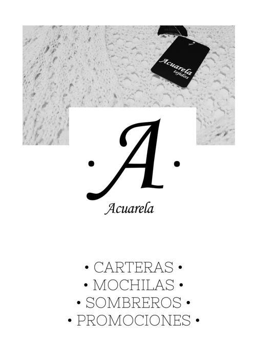 Acuarela Tejidos Catálogo