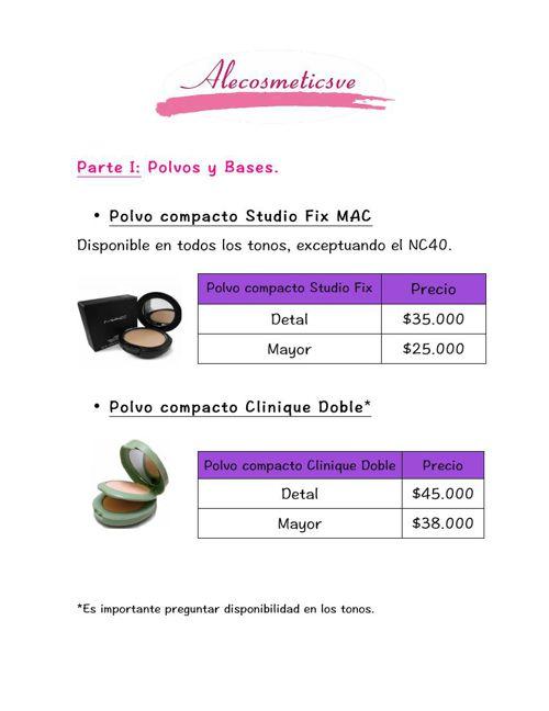 Catálogo de Alecosmetics en Pesos