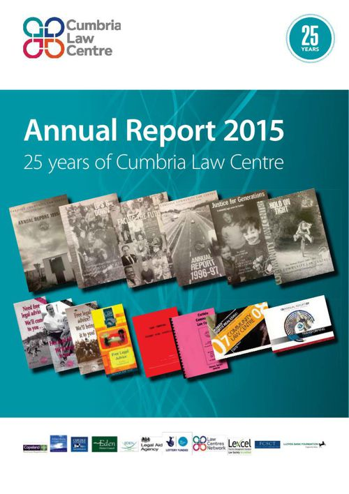 Cumbria Law Centre report 2015