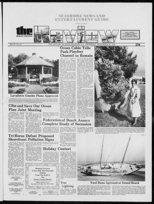 Review November 1986