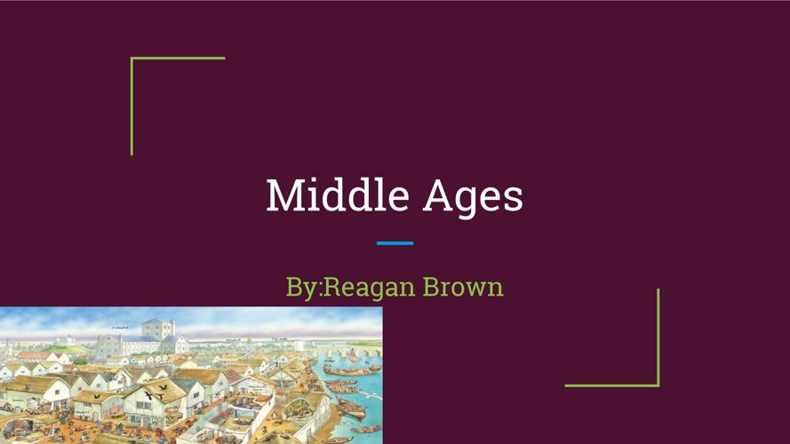 Middle Ages!!