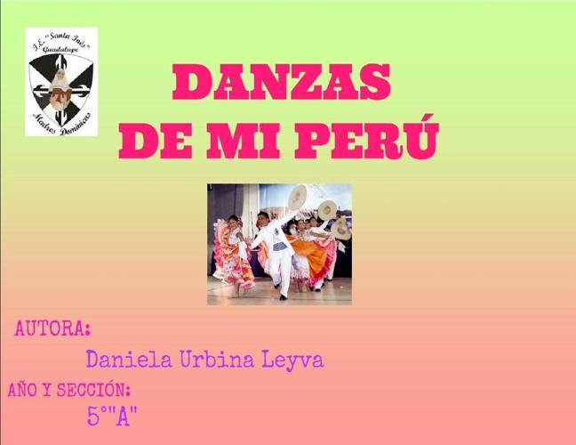 Danzas De Mí Perú