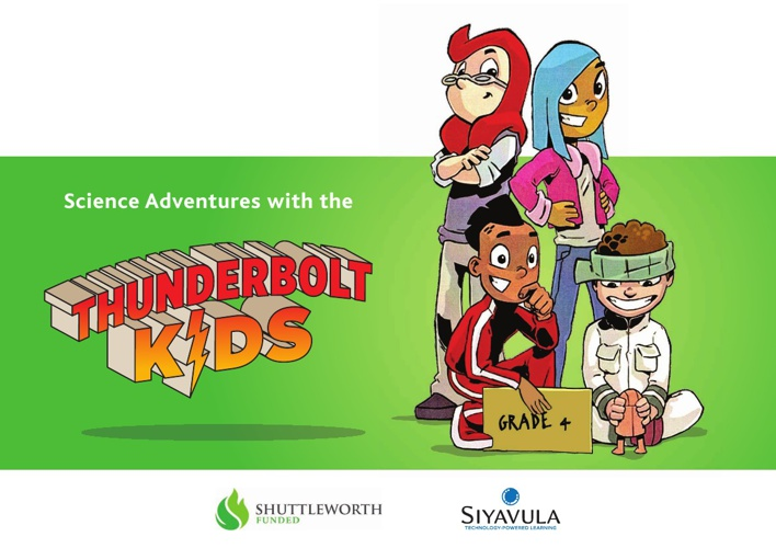 Suyavula's - Thunderbolt Kids - Science Adventure - Grade 4