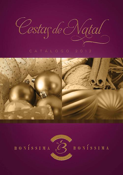 Folheto Natal 2012 - Bonissíma