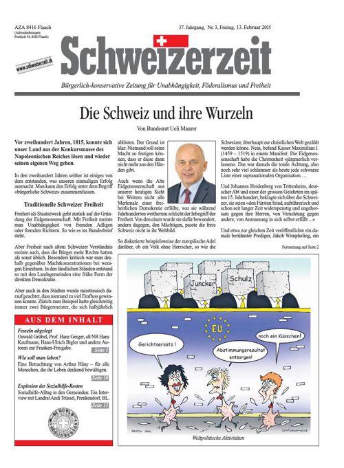 Schweizerzeit Nr. 03 vom 13.02.2015