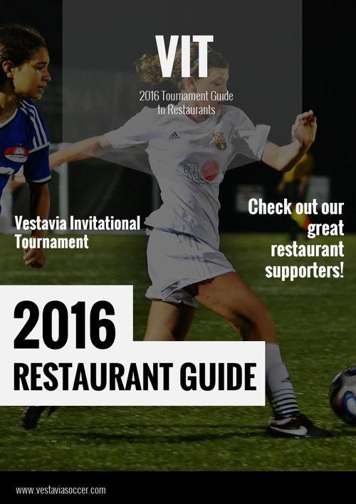 2016 Restaurant Guide
