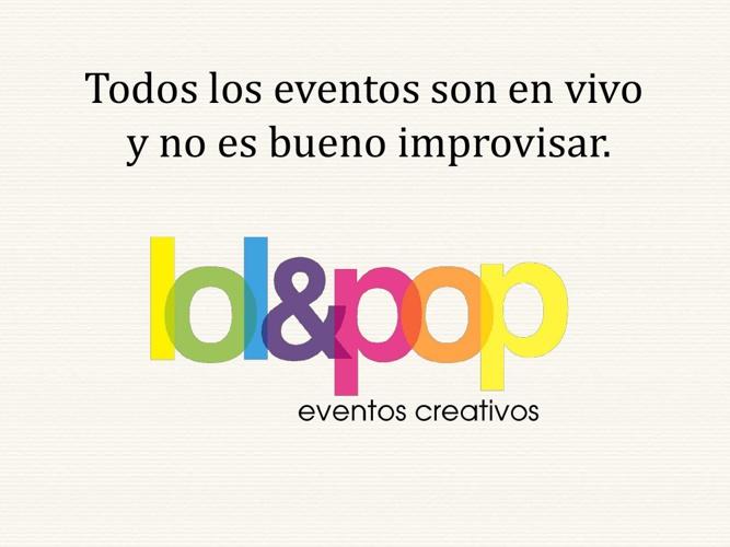 Lol&Pop Eventos Creativos