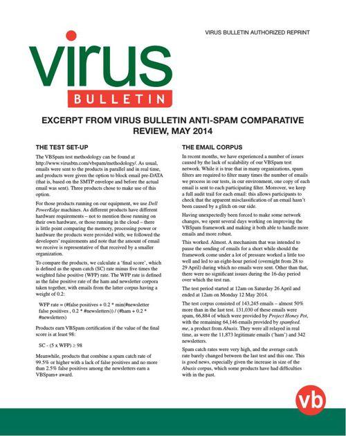 Virus-Bulletin-Fortinet