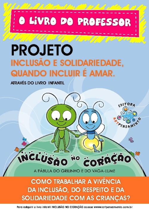 Construindo valores com o livro infantil Inclusão no coração