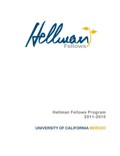 2015 UC Merced awardees booklet