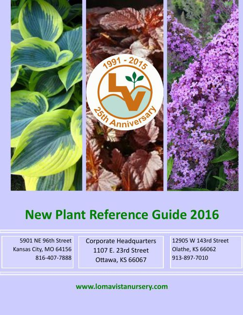 New Plant Reference Guide 2016