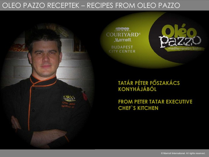 Oleo Pazzo Winter Recipes