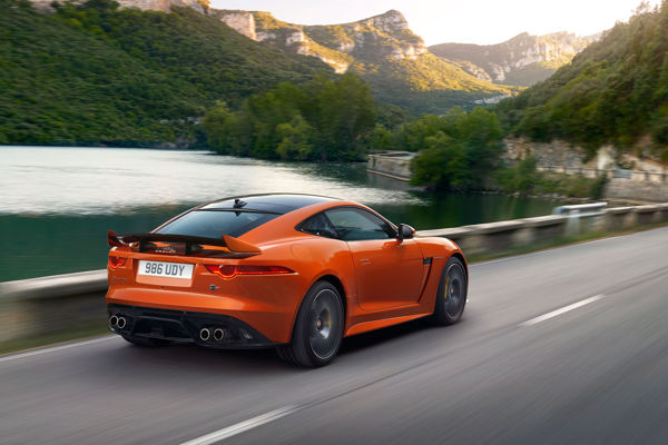 2017 Jaguar F-Type the fastest model ever built