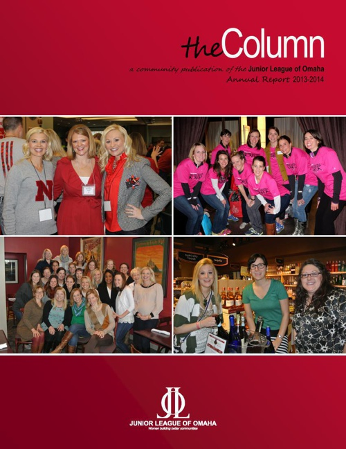 the Column - 2014 Summer Edition - Annual Report 2013-2014
