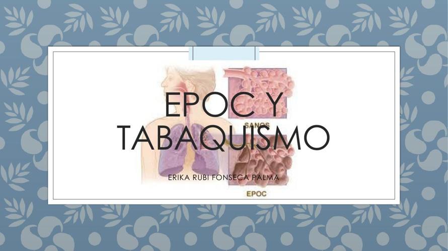 EPOC Y TABAQUISMO