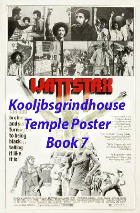 KOOLJBSGRINDHOUSE POSTER TEMPLE BOOK 7