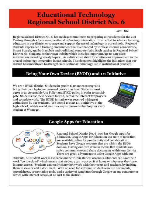 RSD6 Educational Technology