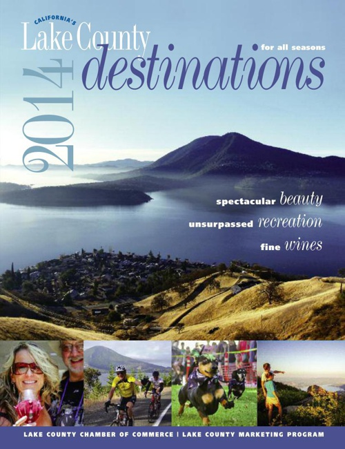 Destinations Magazine - Official Lake County Visitor Guide 2014