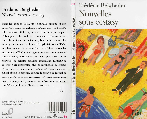 Nouvelles sous ecstasy - Frédéric Beigbeder