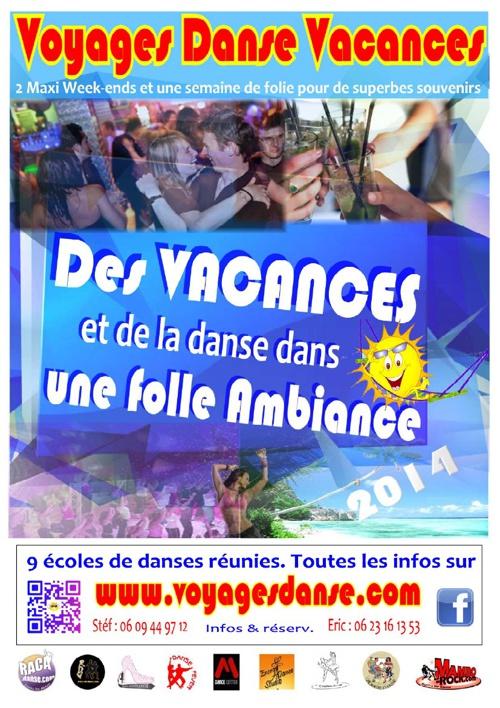 Brochure VOYAGES DANSE 2014