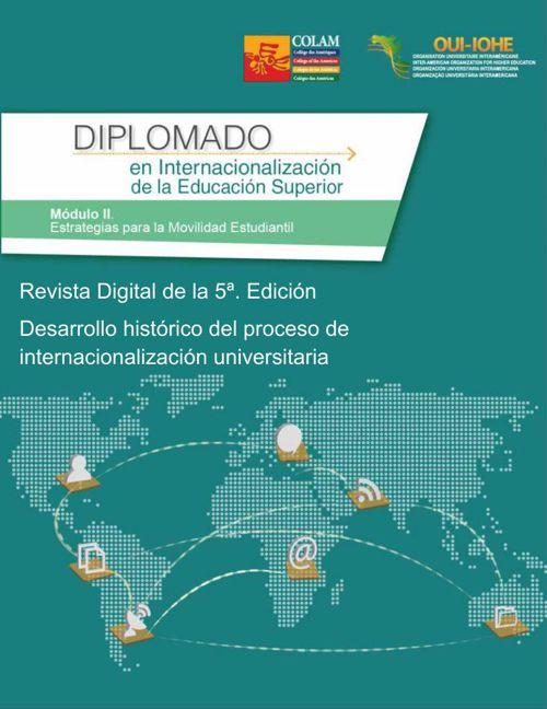 Desarrollo histórico del proceso de internacionalización