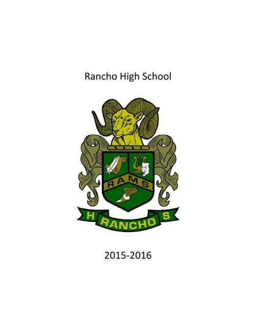 RHS Catalog 2015-2016