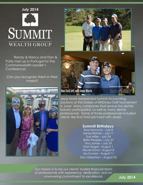 2014 July SWG Newsletter