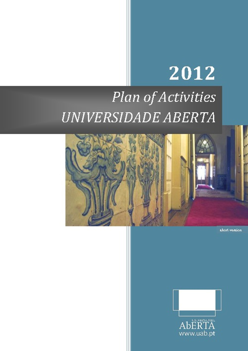 Plan of Activities 2012